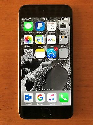 A1586 - iPhone 6 EE excellent condition temperamental charging socket low start