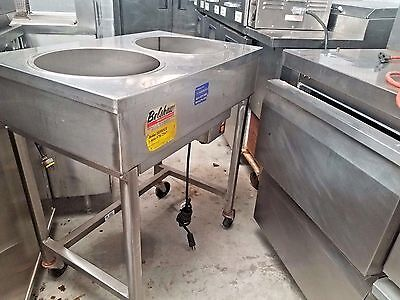 """""""belshaw H & I-2"""" H.d. Commercial S.s. (Nsf) Heat And Ice  - Steam Warmer Cart"""