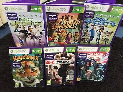 Xbox 360 Kinect Bundle with 6 Games