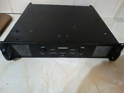 Samson Sx 2400 Power Amplifier, Pa, Disco