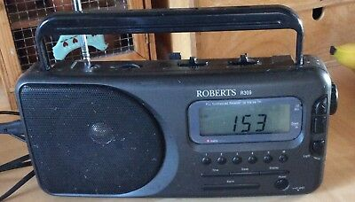 Roberts R309 PLL Synthesised 4 Band Receiver FM/MW/LW/SW RADIO