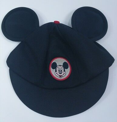 Vintage Disney Mickey Mouse Ears Hat Cap 60's or 70's Club Mouseketeer Adult