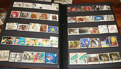 """WOW"" GB QEII collection of over 350 Used Comms Stamps from 1971 to 2016"