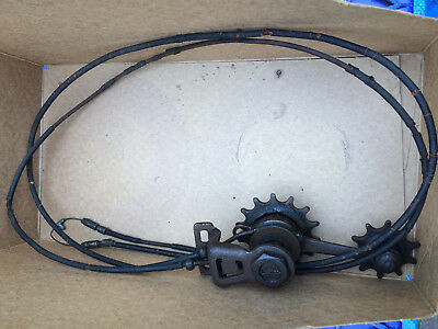 Vintage Cyclo rear mech including complete cable.