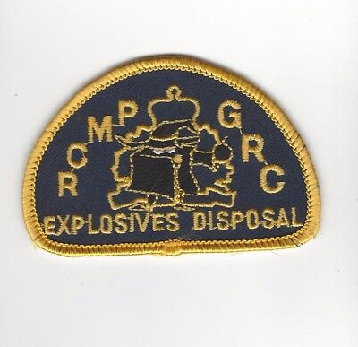 RCMP GRC Explosive Disposal Patch- Canada