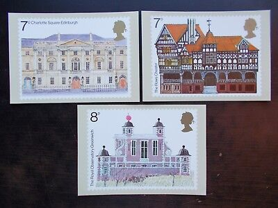 1975 Architectural Heritage PHQ Stamp Cards. Mint, unused. PHQ10.