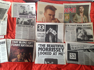 Smiths - Morrisey - Press Cuttings 86 /94 -  Nme -  Reviews Articles And Photos
