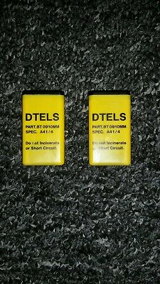 Pye PF1/Burndept BE470 NOS Police Home Office Batteries - last 2 for sale.