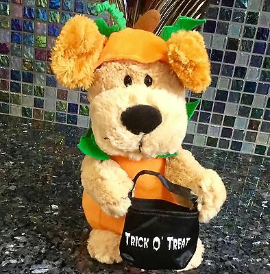 Halloween Avon Puppy Dog Sings We Got The Treats Plush Singing Musical Animated