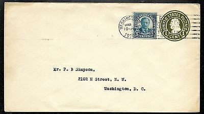 5 March 1924 Teddy Roosevelt Coil FDC #602