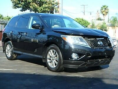2015 Nissan Pathfinder SV 2015 Nissan Pathfinder SV Damaged Salvage Lots of Options Perfect Fixer Must See