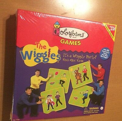 Colorforms Games The Wiggles from 2002 (See Description)