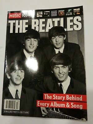 Music Icons Special Tribute The Beatles The Story Behind Every Album & Song