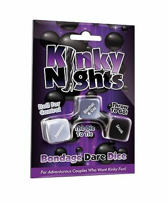 Kinky Nights Bondage Dare Dice Fun Party Games Naughty Sex Aid Romantic Game