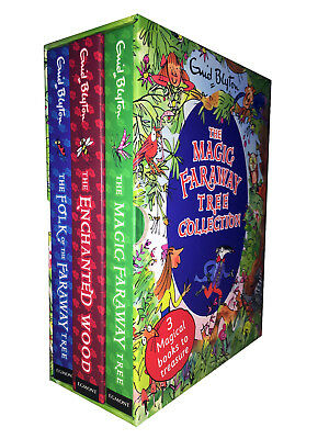 The Magic Faraway Tree Deluxe Enid Blyton 3 Books Collection Box Set HB New