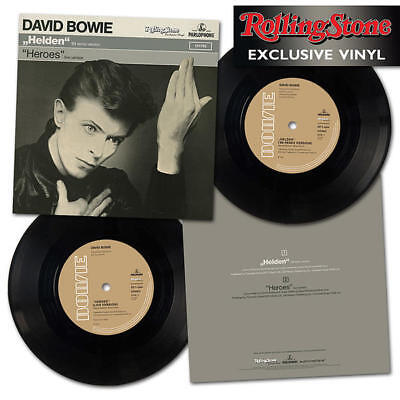 """David Bowie. """"heroes"""" """"helden"""" Rolling Stone 7"""" Single. Rare Limited Edition."""