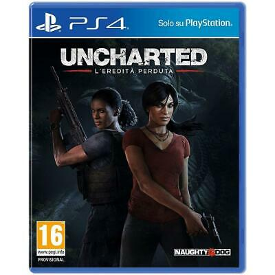 Uncharted The Lost Legacy Ps4 Gioco Playstation 4 Videogioco Italiano Completo