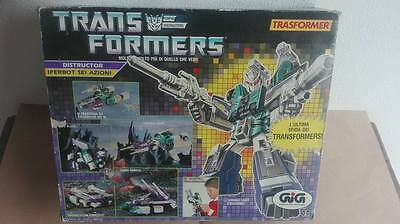 Transformers G1 Iperbot Sixshot In Scatola Gig Completo Asta Da 1 Euro!!