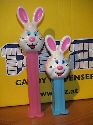 Pez-Großer Und Kleiner Osterhase-Big And Small Easter Bunny-Set Of 2-Low Shipp.