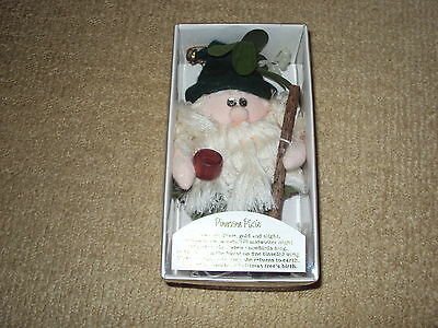 1988 Pinecone Pixie Doll By Roman, Mint In Original Box