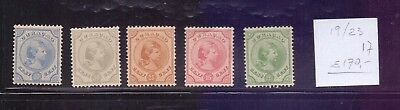 ! Curacao 1892. Stamp. YT#19/23. €170.00 !