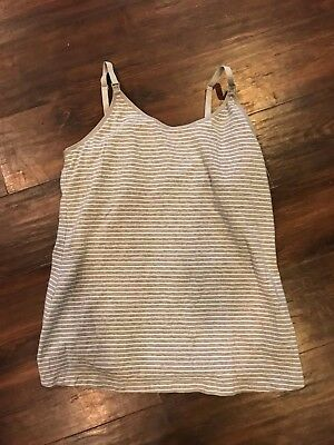 GapBody Nursing Tank Grey Size Medium
