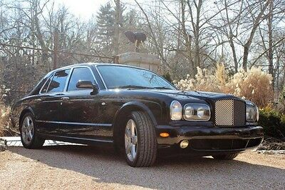 2002 Bentley Arnage T 2002 Bentley Arnage T LOW MILES! 450 Horsepower Black on Black Just Serviced!