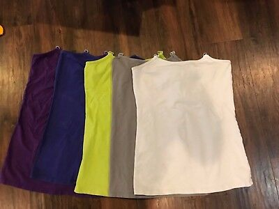 Undercover Mama Nursing Tank Top Set of 5 Size Medium