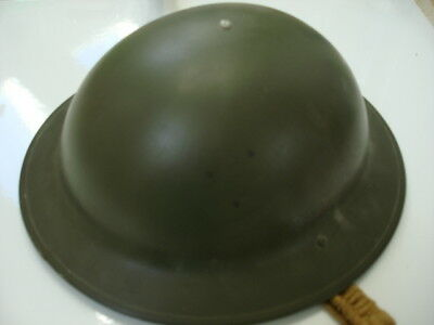 WWII Canadian C.L./C. 97 Stamped 1942 Dated HELMET with Liner Canadian Lamp Co.