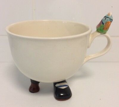 Vintage 1960s Carlton Ware Rising Hawk walking tea cup Long John Silver