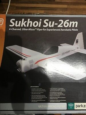 Sukhoi Su-26m Parkzone ***SEE MY OTHER INDOOR/MICRO MODEL LISTINGS***
