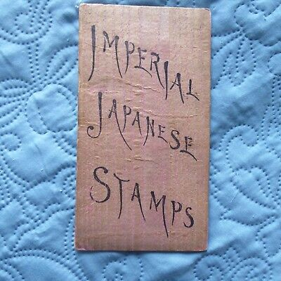 Rare carnet de timbres japon imperial Imperial japanese stamps