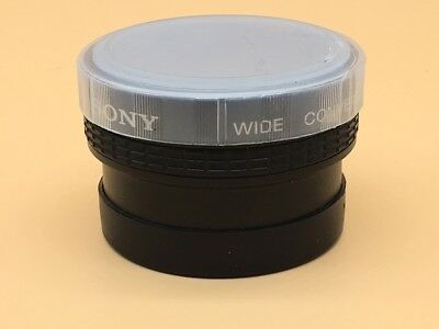 Sony Wide Conversion Lens X0.7 VCL-0746 For 46mm Filter Ring - (#7)