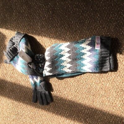 Boys Marks and Spencer's Hat, Gloves and Scarf set 10 to 14 years