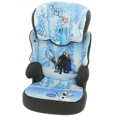 Disney Frozen Befix Car Seat, Child Infant Toddler, Group 2 / 3 Booster Car Seat