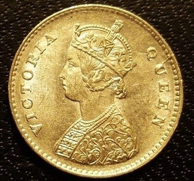 1862 India..Two Annas..Choice BU..White & Lustrous..See pictures..Free Shipping