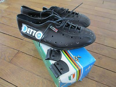 shoes chaussures DP Detto Pietro s42 vélo cycliste cycling vintage campagnolo