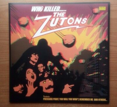 THE ZUTONS - Who Killed the Zutons (original 2004 vinyl LP with 3D glasses)
