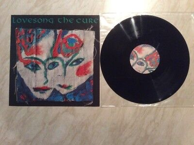 THE CURE - Lovesong RARE UK 3 TRACK 12' 1989