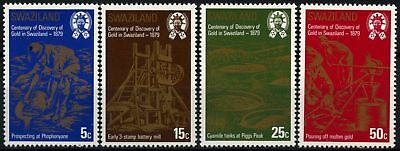 Swaziland 1979 SG#314-7 Discovery Of Gold MNH Set #D58686