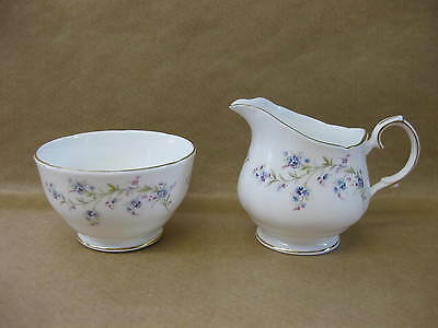 Pretty Vintage Duchess Jug & Bowl Tranquillity ~ English China ~ Forget Me Not