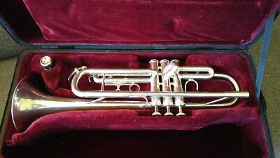 Besson - BE110-2-0 Trumpet - Silver Plated - Excellent Condition