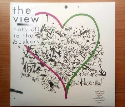 THE VIEW - Hats Off to the Buskers (original 2007 white vinyl + poster)