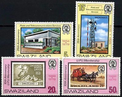 Swaziland 1979 SG#332-5 Post Office Anniversaries MNH Set #D58688