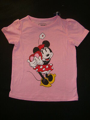 Disney / Old Navy Graphic Tee-Shirt Nwt   Minnie Mouse