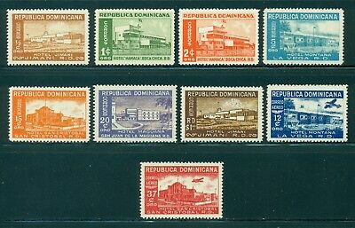 Dominican Republic MNH Selections: Scott #437//C76 Hotel Issue Complete CV$11+