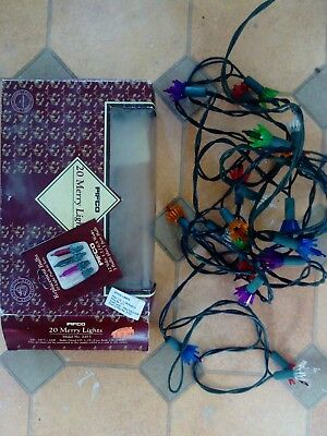vintage party Christmas lights pifco
