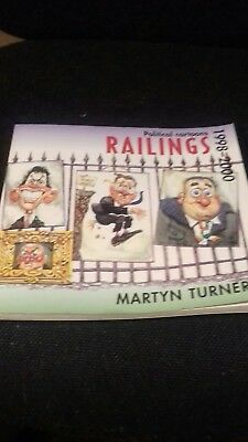 Political Cartoons Railings Martyn Turner 1998-2000