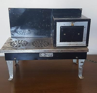 Metal Ware Corp Sample Size Stove WORKING Child Toy Stove