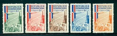 Dominican Republic MNH Selections: Scott #565-569 Family Agriculture $$